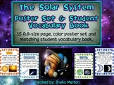 Solar System Poster Set / Student Vocabulary Book