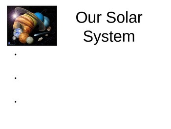 Solar System Power Point