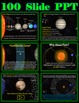 Solar System Power Point Bundle (100 Animated Slides)