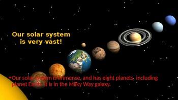 Solar System Power point - 12 slides