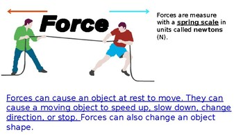 What are forces? PowerPoint