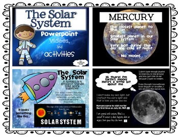 Solar System PowerPoint and Activities