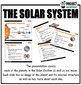 Solar System PowerPoint and Worksheets