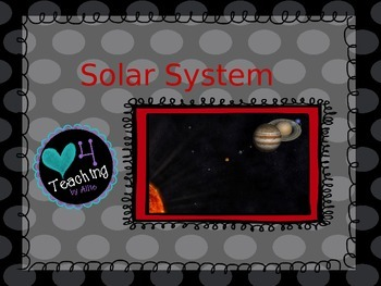 Solar System Powerpoint (5th Grade)