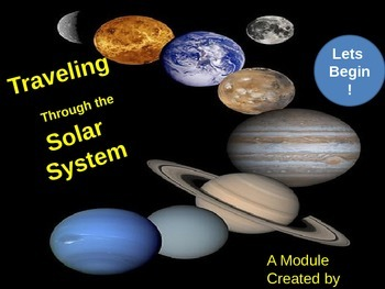 Solar System Powerpoint + Quiz