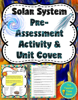 Solar System Pre-Assessment or Warm-Ups (Presentation and Activity)