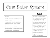 Make a Giant Solar System Poster Craft Activity, Sun Plane
