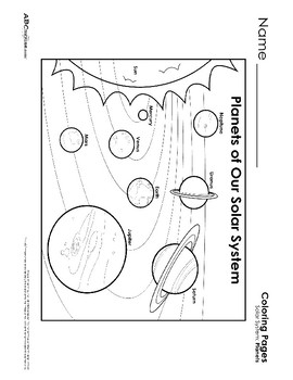 Solar System Printables Collection