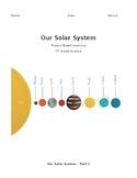 Solar System Project-Based Learning