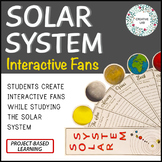 Solar System Project - Interactive Fans - PBL