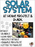 Solar System Project - Rubric and Project Details
