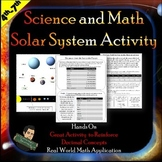Solar System Project with Math Connections  | Distance Learning