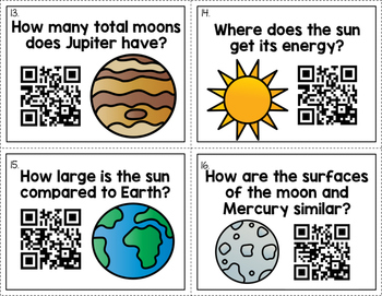 Solar System - QR Code Activity