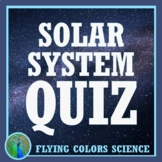 Solar System QUIZ for Middle School NGSS MS-ESS1-3