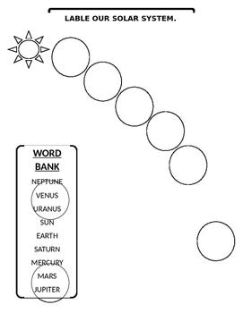 Solar System Quiz - 2nd grade