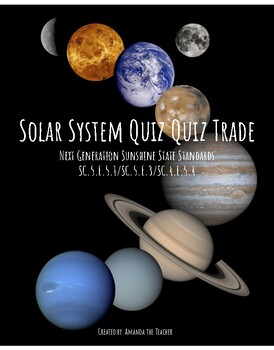Solar System Quiz Quiz Trade