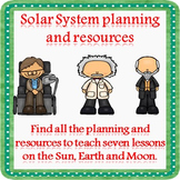 Solar System Reading Comprehension (Free Sample of a planning resource)