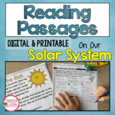 Solar System Reading Passages   Close Reading Passages   I