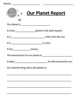 Solar System Report