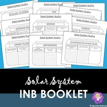 Solar System Research Booklet