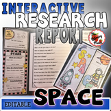 Interactive Space Research Report {Perfect for PebbleGo}
