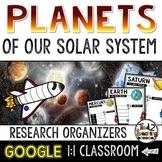 Solar System Research Organizers: GOOGLE CLASSROOM