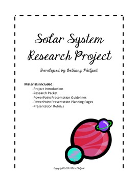 Solar System Research Project