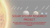 Distance Learning: Solar System Research Project
