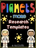 Solar System Research Templates