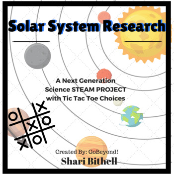 Multiple Intelligence TicTacToe - Next Generation Science Solar System Research