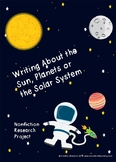 Solar System Research Writing