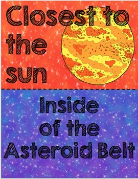 Solar System Review Cards