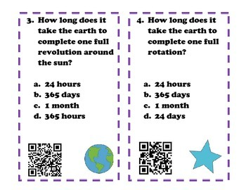 Solar System Review QR CODE