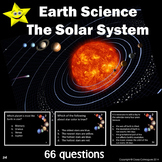 Solar System Review and Test Prep Slides