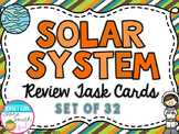 Solar System Review Task Cards - Set of 32