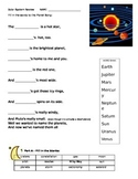 Solar System Review Test