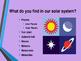 Solar System-Rotation and Revolution
