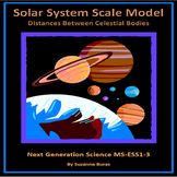 Solar System Scale Model: Distance Between Planets - NGS MS-ESS1-3