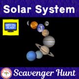 Solar System Scavenger Hunt + Free BOOM Cards