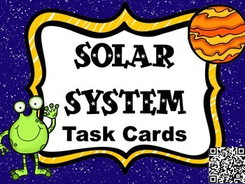 Solar System Scavenger Hunt - Read and Answer