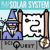 Solar System SciQuest Science Scavenger Hunt- Print and Digital