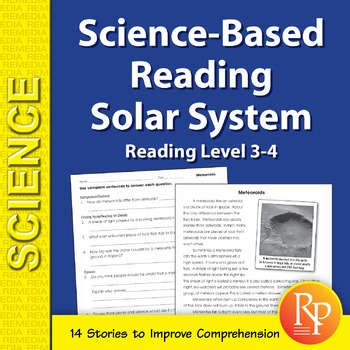 Solar System: Science-Based Reading