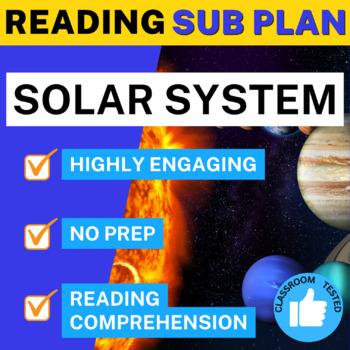 Science Literacy Solar System Sub Plan
