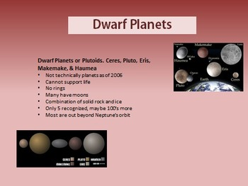 Solar System Science Computer PowerPoint
