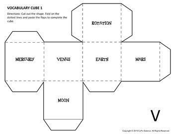 Solar System Science Cubes
