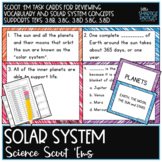 Solar System: Science Scoot 'ems