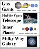 Solar System Science Word Wall - Solar System Vocabulary -