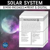 Solar System Reading Passages