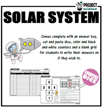 Solar System Snakes and Ladders