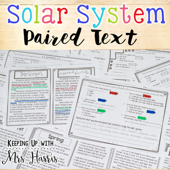 Solar System Paired Text